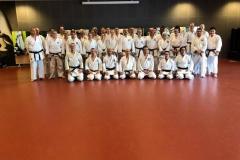 Shotokan platform training 7 april 2018. met dank aan alle docenten