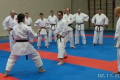 Shotokan platform training dag van het Karate 2 november 2014 met dank aan Michael Banus
